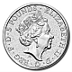 2 Ounce Queen's Beasts Silver Bullion Coin - Griffin of Edward III