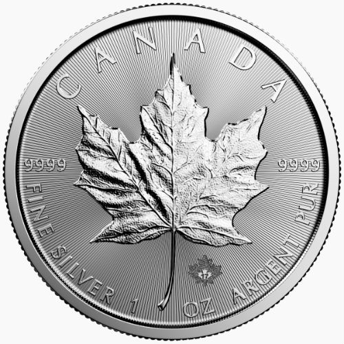 1 Ounce 2017 Silver Maple Leaf Coin